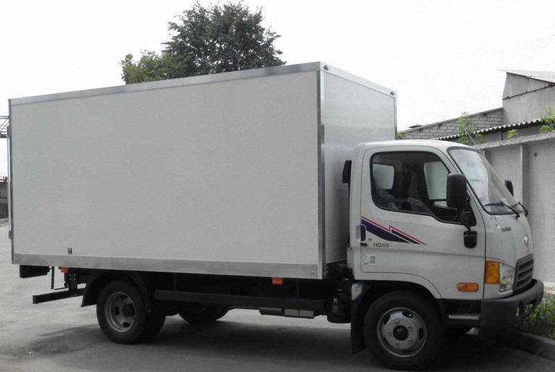 xe tải Hyundai HD65 2.5 tấn Thùng kín lắp ráp