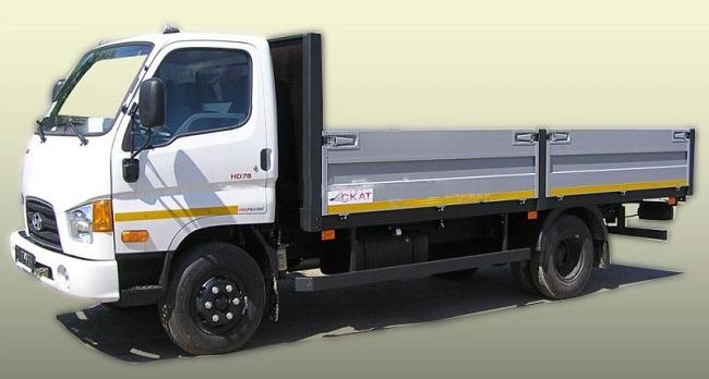 Xe tải hyundai 4t5 thùng lửng