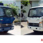 Xe tải thùng 6m tải trọng 1t9 chuyên chở thuận tiện hơn