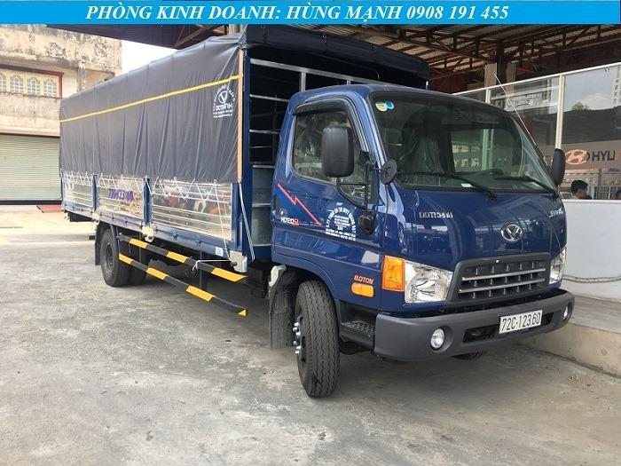 xe tải hyundai 8 tấn bửng nhôm