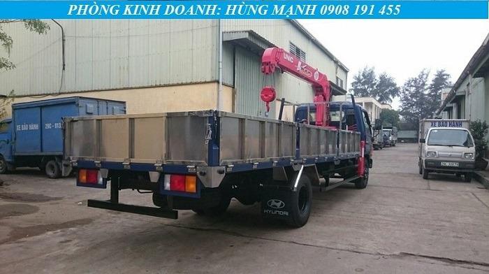 xe tải hyundai 8 tấn lắp cẩu
