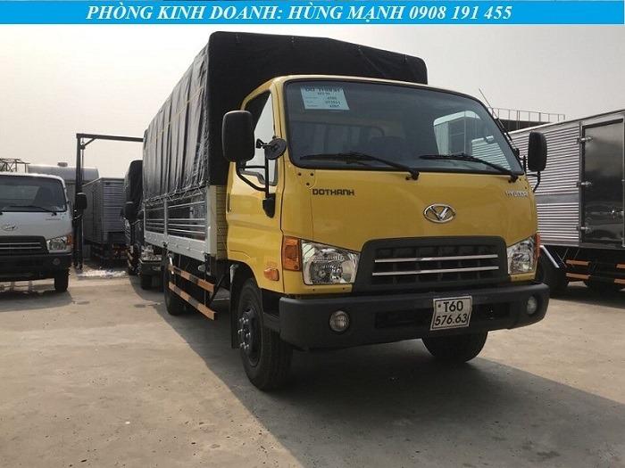 xe tải hyundai 8 tấn thùng bạt tiêu chuẩn