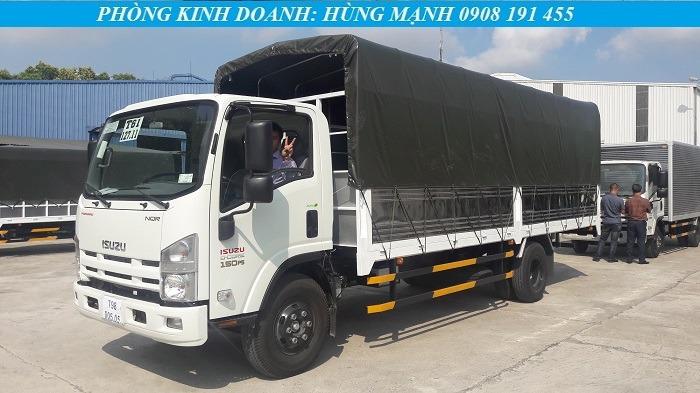 xe tải isuzu 5 tấn thùng bạt