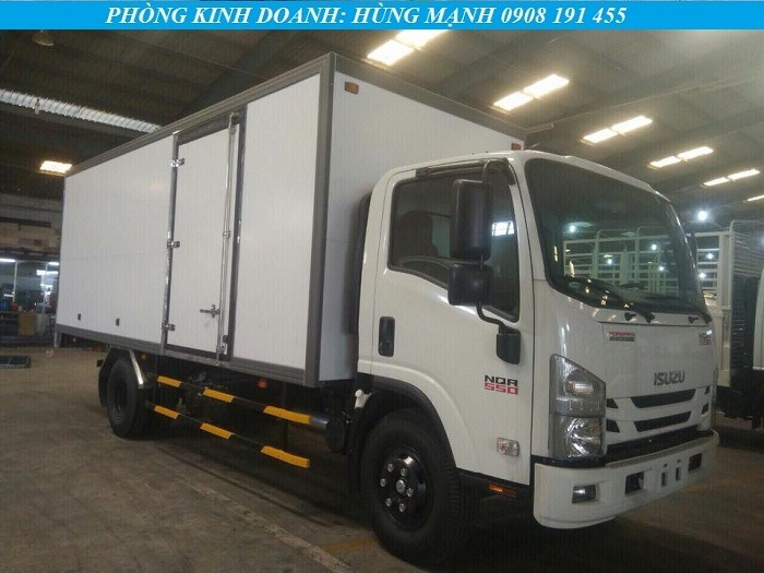 xe tải isuzu 5 tấn thùng composite