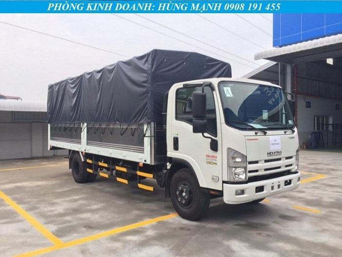 xe tải isuzu 5 tấn thùng bạt 6m2