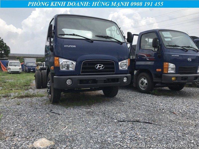 ngoại thất xe tải Hyundai Mighty 75s
