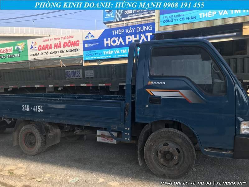 Xe tải Kia cũ K3000 thùng lững