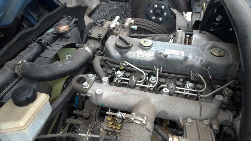 Động cơ Hyundai 8 tấn Mighty 2017