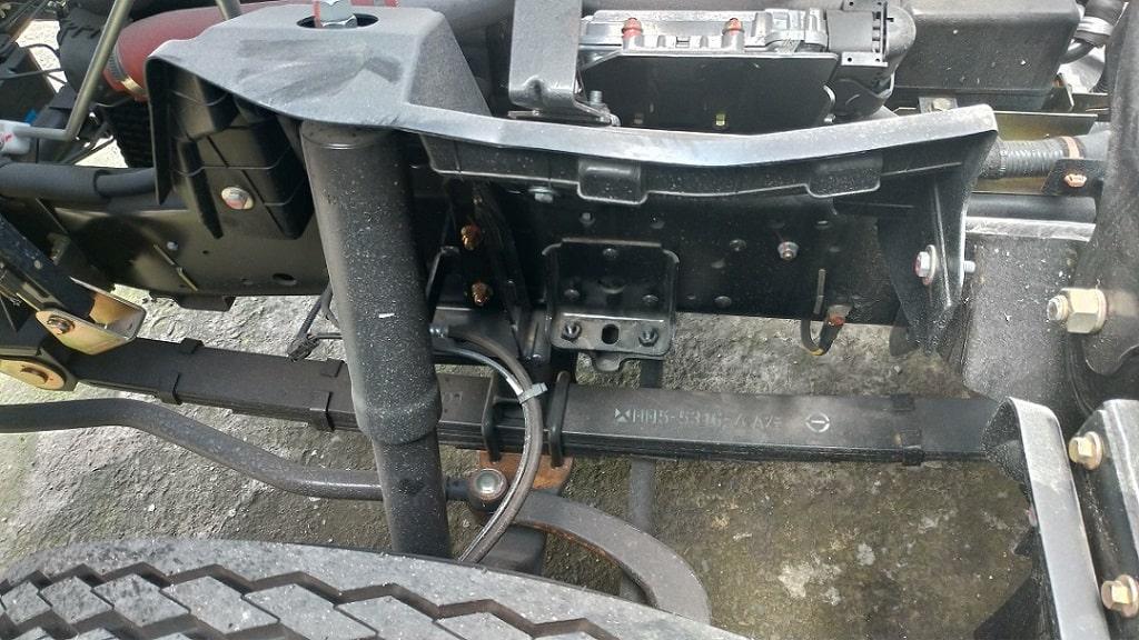 Kết cấu xe tải IZ65 vững chắc