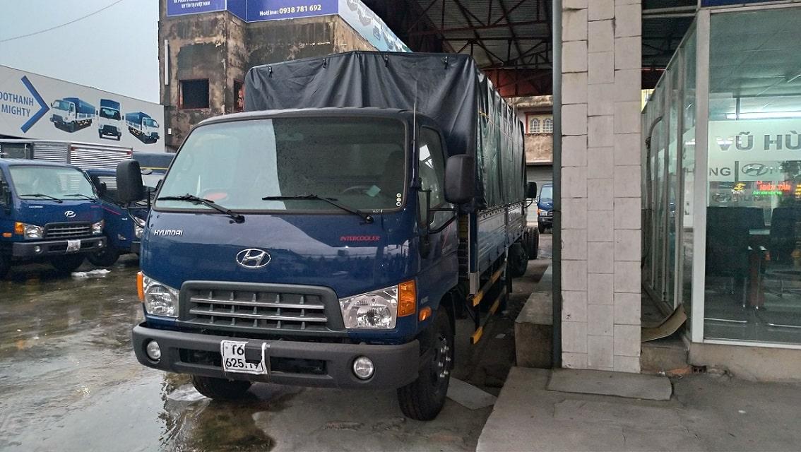 Hyundai Mighty 2017 thùng mui bạt