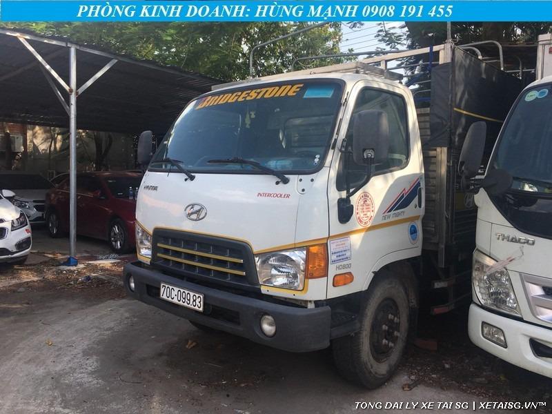 Xe tải Hyundai 8 tấn HD800 cũ ngoại thất