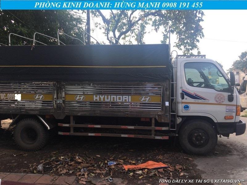 Xe tải Hyundai 8 tấn HD800 cũ thùng xe