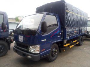 xe tải IZ49 Đô Thành bạt xanh