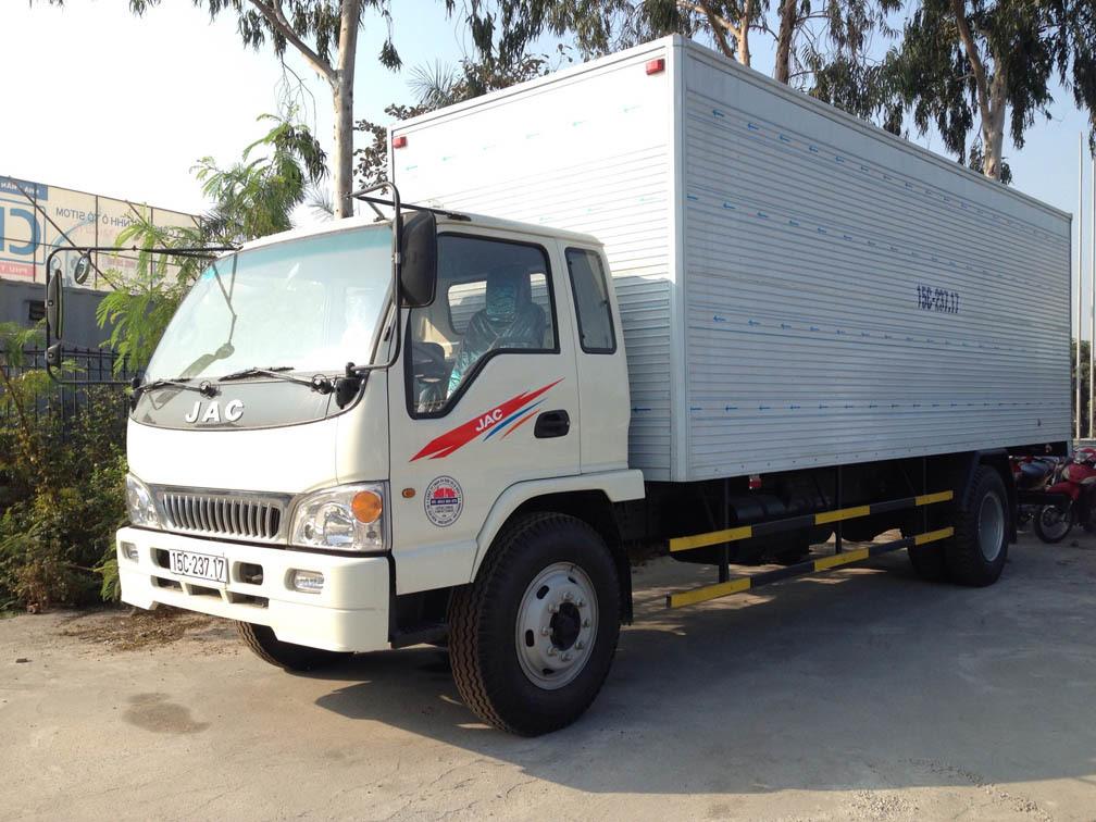 Xe tải JAC 8 tấn cũ đáng chú ý