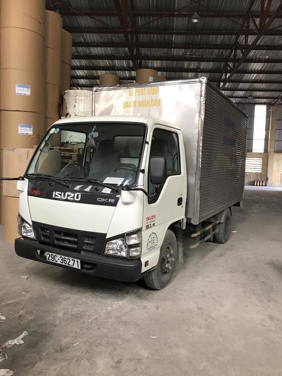 Xe tải ISUZU 1.5 tấn đã qua sử dụng
