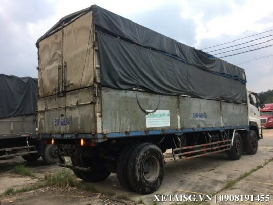 xe tải dongfeng hoàng huy 2 dí cũ