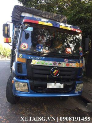 xe tải thaco auman 3 chân cũ