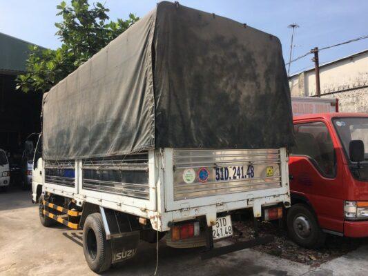 xe tải isuzu 2t2 cũ ngoại hình