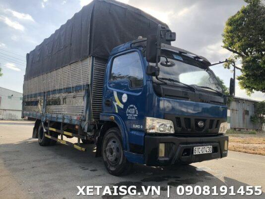 xe tải veam 1t3 thùng 6m