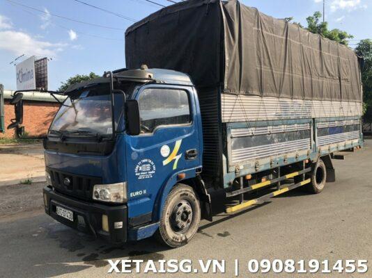 xe tải veam 1t3 thùng 6m cũ