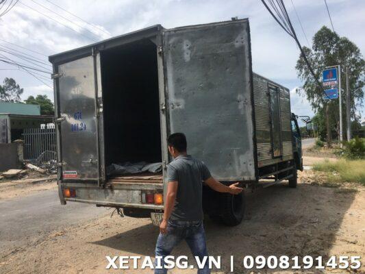 xe tải veam thùng 6m cũ
