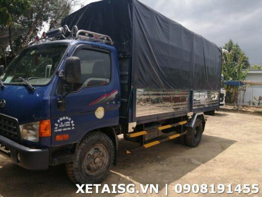 xe tải hyundai 3t5 cũ hd72