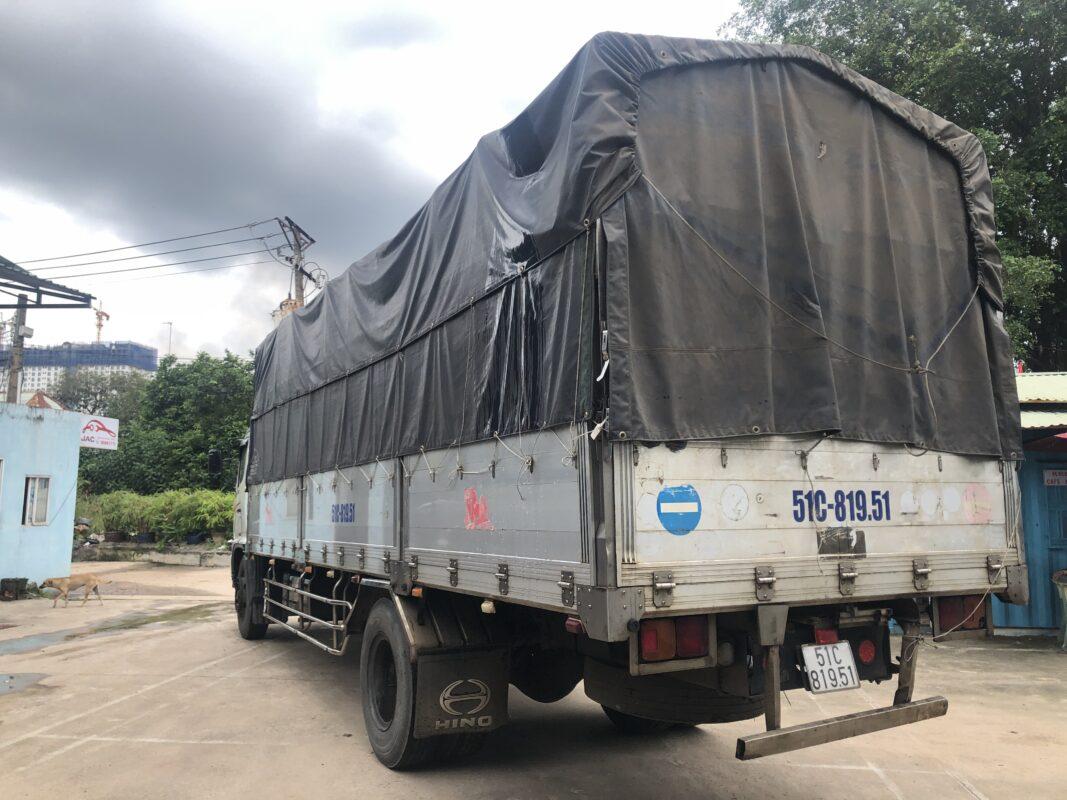 Hino 8 tấn thùng nhôm cũ