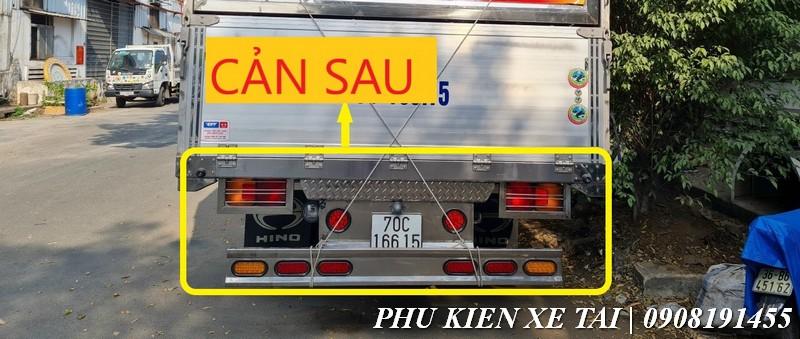 cản sau xe tải inox