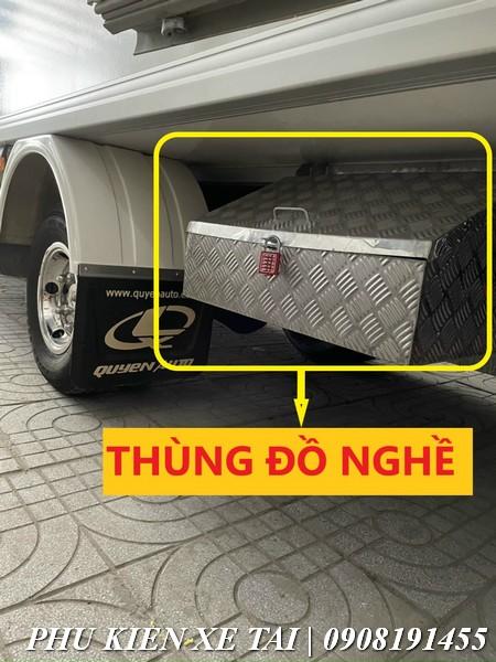 thùng đồ nghề xe tải lắp trên xe đông lạnh
