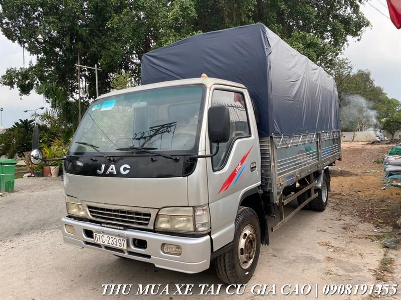 xe tải jac 3t4 cũ